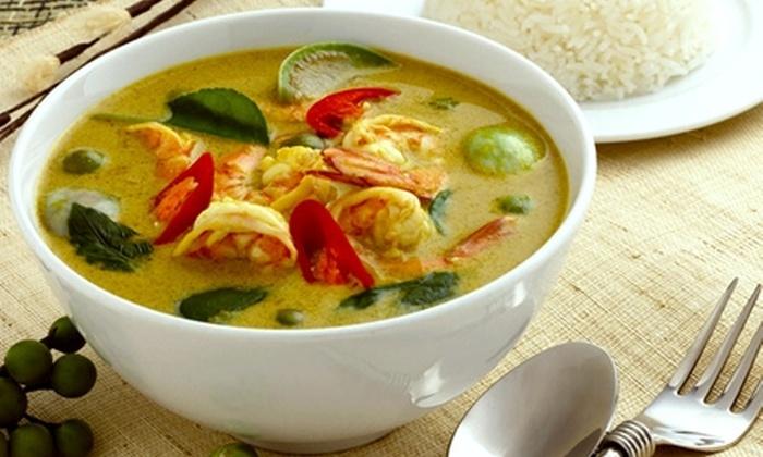 Thai Senses - Oakville: $5 for $15 Worth of Thai Cuisine and Drinks at Thai Senses in Oakville