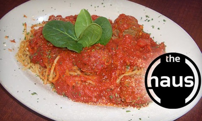 The Haus Pizzeria and Bar - St Louis: $8 for $17 Worth of Italian Eats and Drinks at The Haus Pizzeria & Bar in Chesterfield