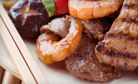 $40 Groupon - Teppan Bar & Grill in Jersey City