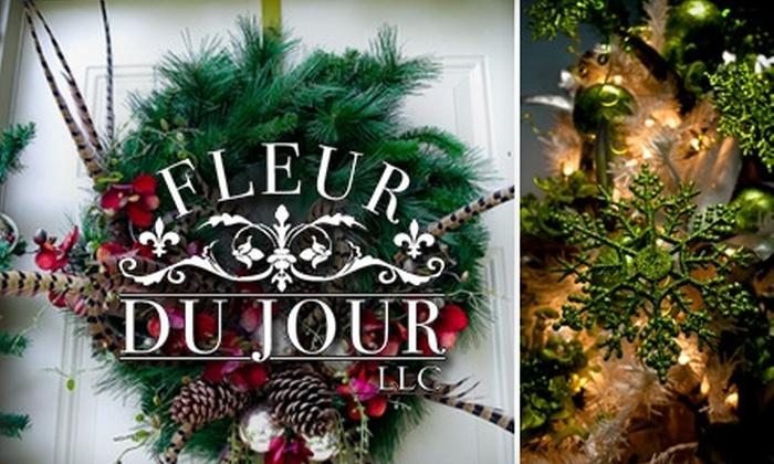 Fleur Du Jour - Downtown Baton Rouge: $20 for $45 Worth of Flowers, Gift Baskets, and More at Fleur Du Jour