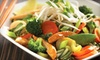 Wok Box - Victoria: Fresh Asian Cuisine for Two or Four at Wok Box (Up to 56% Off)
