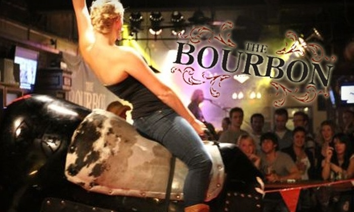 The Bourbon Country Bar - Downtown Vancouver: $25 for Cover for Two People, Two Drinks, and Two Cowboy Hats at The Bourbon Country Bar (Up to $61 Value)