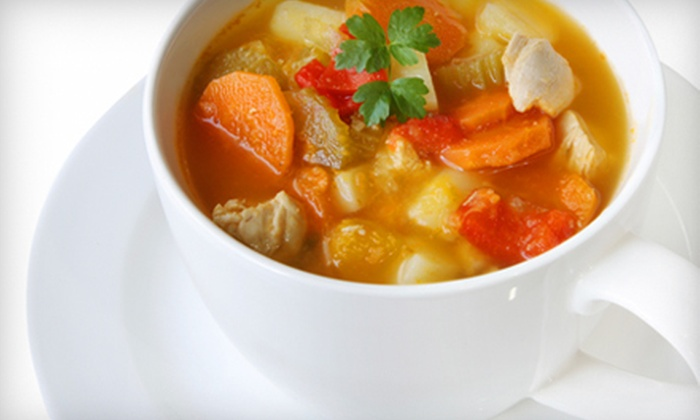 Local Roots Fine Foods - Multiple Locations: $26 for Sampler of Six Homemade Soups from Local Roots Fine Foods ($53.08 value)