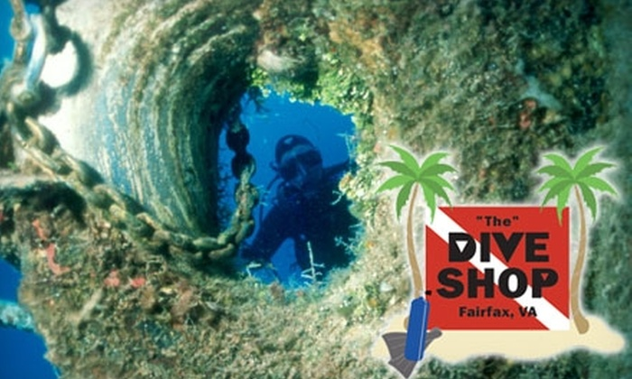 The Dive Shop  - Merrifield: $20 for a Taste of Scuba Class at The Dive Shop in Fairfax