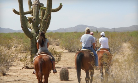 Two-Hour Trail Ride for One (a $70 value) - Cocoraque Trail Rides in Marana