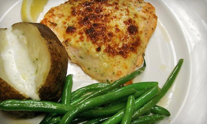 Cafe West - Detroit: $20 for $40 Worth of Seafood, Steaks, and Drinks at Cafe West in Trenton
