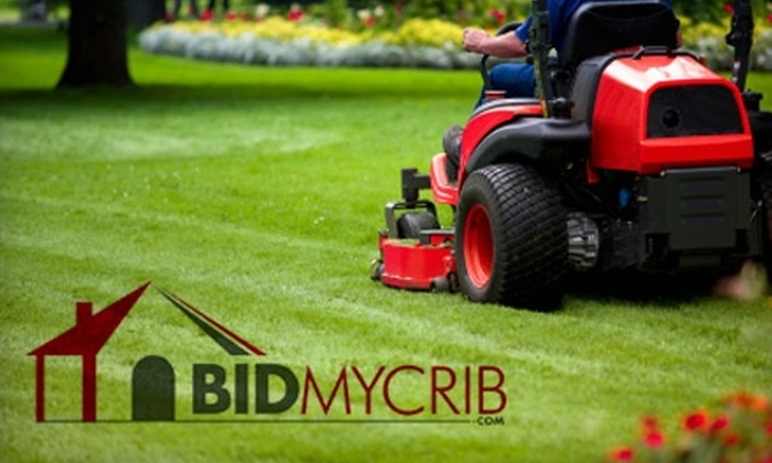 BidMyCrib.com - Cincinnati: $59 for Five Mowing Services at BidMyCrib.com