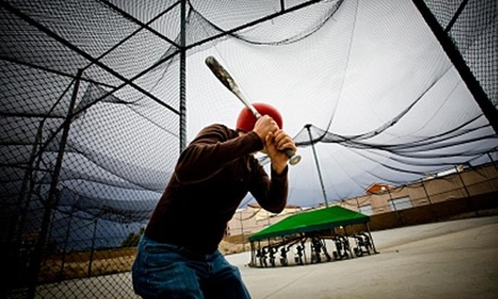 Legends Batting Cages - Rockwall: $10 for Batting Cage Practice with Snacks at Legends Batting Cages in Rockwall ($22.50 Value)