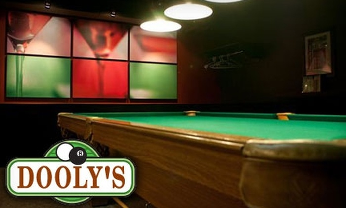 Dooly's Ottawa - Industrial Park: Billiards or Smoked Meat Lunch at Dooly's Ottawa (Up to $28.56 Value). Choose from Two Options.