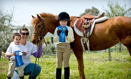 Four 30-Minute Private Horseback-Riding Lessons for Ages 2-9 (a $140 value) - Sacred Cross Horse Services in Oakland