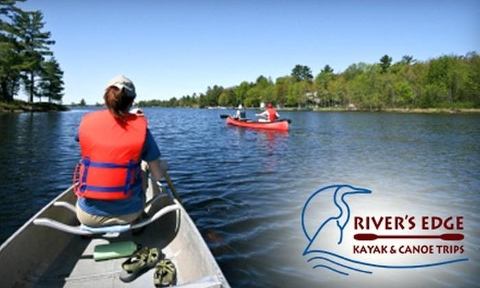 River's Edge Kayak & Canoe Trips - Napa / Sonoma: Canoe Trip or River-Trip Gift Pack from River's Edge Kayak & Canoe Trips