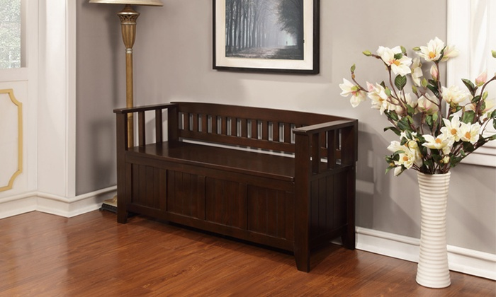Acadian Entryway Storage Benches: Acadian Entryway Storage Bench. Multiple Colors Available. Free Returns.