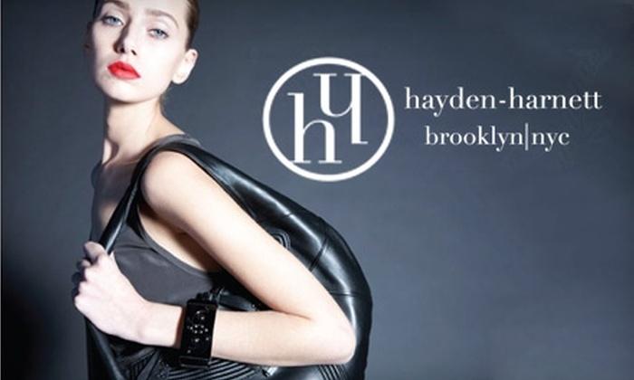 Hayden-Harnett - Greenpoint: $75 for $150 Worth of Designer Handbags and More at Hayden-Harnett