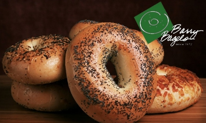 Barry Bagels - Multiple Locations: $4 for $10 Worth of Bagels and More at Barry Bagels