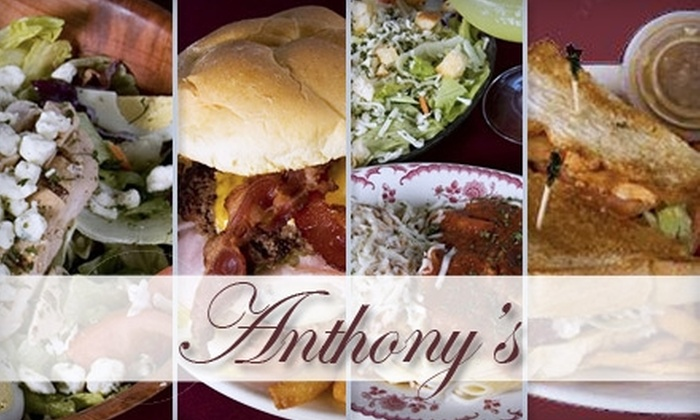 Anthony's Italian Restaurant & Spirits - Alliance: $10 for $20 Worth of Classic Italian Fare and Drinks at Anthony's Italian Restaurant & Spirits