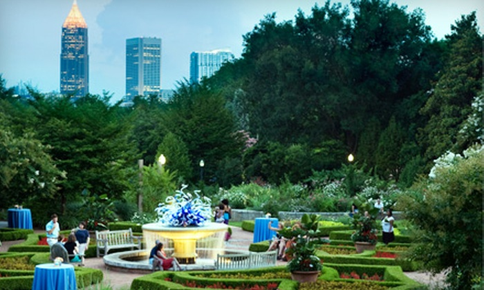 Atlanta Botanical Garden - Northeast Atlanta: $18 for Two Tickets to Cocktails in the Garden at Atlanta Botanical Garden ($37.90 Value)