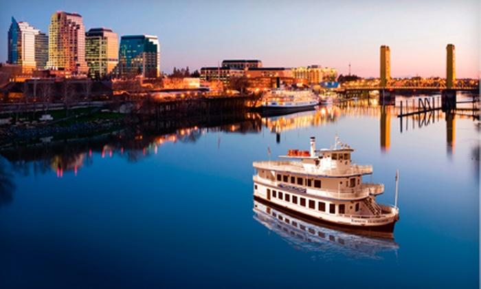 Hornblower Cruises & Events - Central Sacramento: Sacramento Historic River Cruise for Two, Four, or Six from Hornblower Cruises & Events