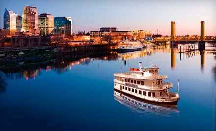 River Tour for 4 (an $80 value) - Hornblower Cruises & Events in Sacramento