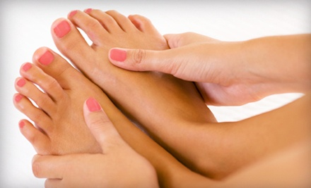 Basic Mani-Pedi (a $65 value) - Aura Day Spa and Salon in Clarksville