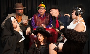 Mystery Cafe Dinner Theater: $72 for a Comedy Mystery Dinner Theater Experience for Two at Mystery Cafe Dinner Theater ($129 Value)