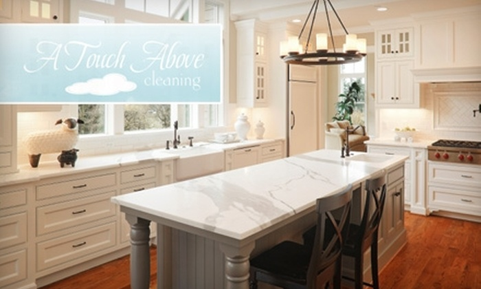 A Touch Above Cleaning - Multiple Locations: $55 for Two Hours of Cleaning Services from A Touch Above Cleaning ($150 Value)