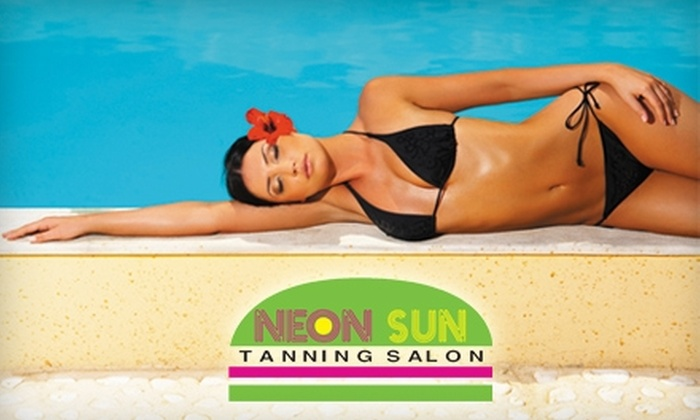 Neon Sun Tanning Salon - Amarillo: $12 for One Mystic Tan ($25 Value) or $19 for One Month of Unlimited Tanning ($49 Value) at Neon Sun Tanning Salon