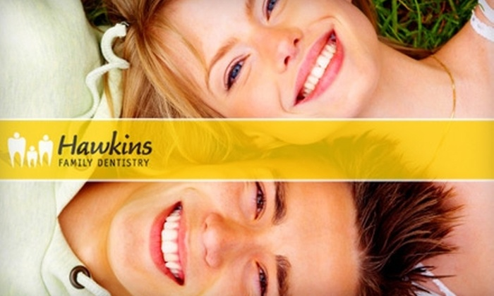 Hawkins Family Dentistry - Midlothian: $59 for Dental Exam, X-Rays, Cleaning, and Teeth Whitening at Hawkins Family Dentistry in Midlothian ($531 Value)