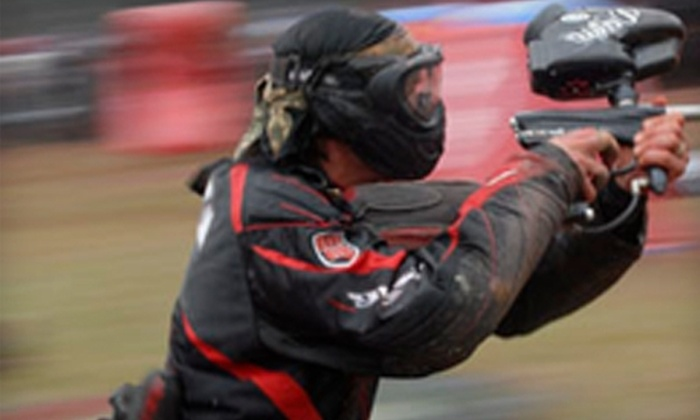 All Star Paintball Arena - Spotswood: $24 for Open Play, Equipment Rental, and 200 Paintballs at All Star Paintball Arena in Spotswood ($49 Value)