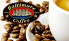 Baltimore Coffee & Tea Company - Multiple Locations: $15 for $30 Worth of Fresh Coffee, Tea, and Other Beverages at Baltimore Coffee & Tea Company