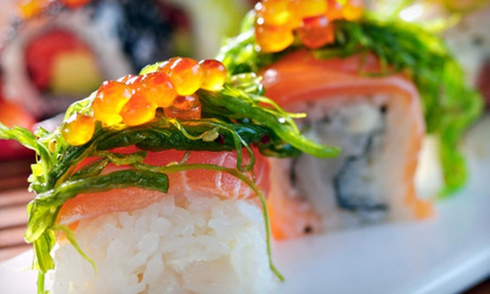 Fuji Japanese Steakhouse - Cannon Heights: Sushi, Steak, and Japanese Fare for Dinner or Lunch at Fuji Japanese Steakhouse in Dalton (Up to 53% Off)