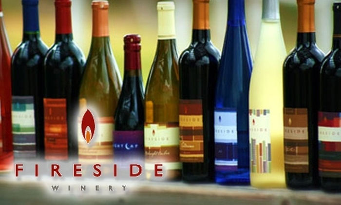 Fireside Winery - Hilton: $7 for $15 Worth of Wine at Fireside Winery