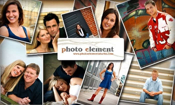 Photo Element - Highland: $69 for the Ultimate Portrait Package from Photo Element
