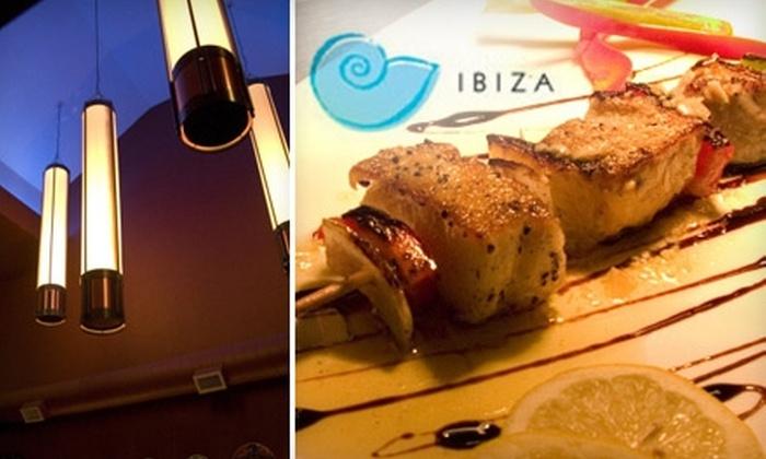 Ibiza Tapas & Wine Bar - Southside Flats: $12 for $25 Worth of International Fare at Ibiza Tapas & Wine Bar