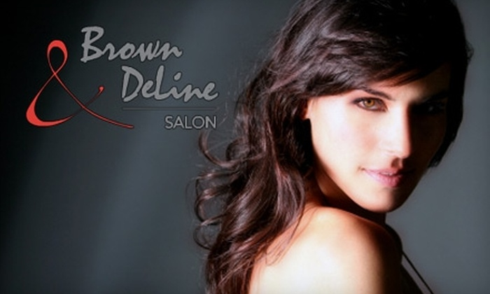 Brown and DeLine - Haisley: $40 for $125 Worth of Hair Services at Brown & DeLine Salon