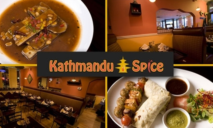 Kathmandu Spice Restaurant - East Arlington: $20 for $40 Worth of Nepalese and Indian Cuisine and Drinks at Kathmandu Spice