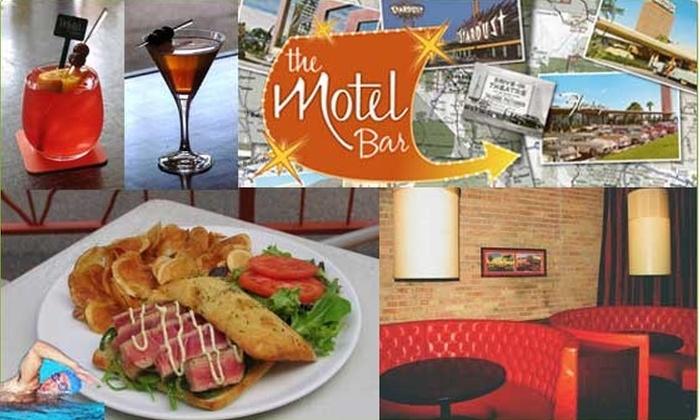 Motel Bar - Near North Side: Half-Off Food and Drinks at Motel Bar