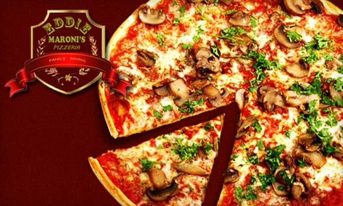 Eddie Maroni's Pizzeria - San Tan Valley: $8 for $16 Worth of Pizza, Drinks, and More at Eddie Maroni's Pizzeria & Family Dining in San Tan Valley