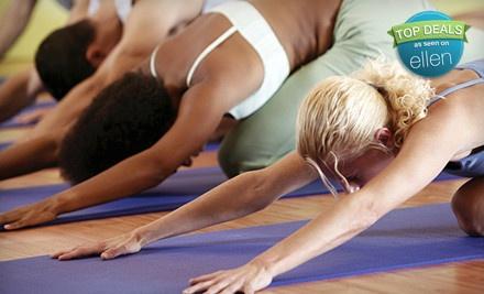 5 Yoga Classes (a $70 value) - Agape Yoga Studio in St. Louis
