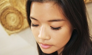 Lash Up Studio: Full Set of Faux-Mink Eyelash Extensions with Optional Relash Session at Lash Up Studio (Up to 55% Off)