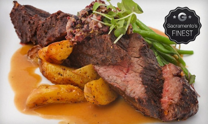 Bidwell Street Bistro - Folsom: American and French Bistro Cuisine for Dinner or Lunch at Bidwell Street Bistro (Up to 40% Off)