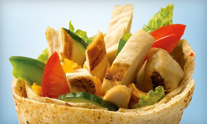 Extreme Pita - South Baton Rouge: Platter for 5 or 14, or $7 for $15 Worth of Pitas, Salads, and Soups at Extreme Pita