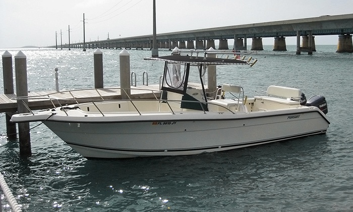 Hogfish Boat Rentals, LLC - Marathon: One-, Two-, or Three-Day Boat Rental of a 28-Footer from Hogfish Boat Rentals, LLC (Up to 52% Off)