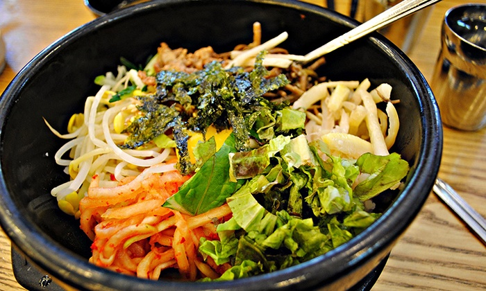 Bada Korean BBQ Tofu House - Moorpark: Korean Food at Bada Korean BBQ Tofu House (Up to 45% Off). Two Options Available.