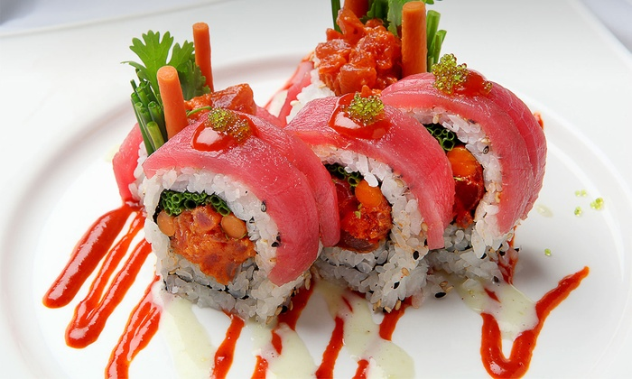 Tokyo Sushi - Ashburn Village: Sushi, Noodles, and Sashimi at Tokyo Sushi (Up to 30% Off). Two Options Available.