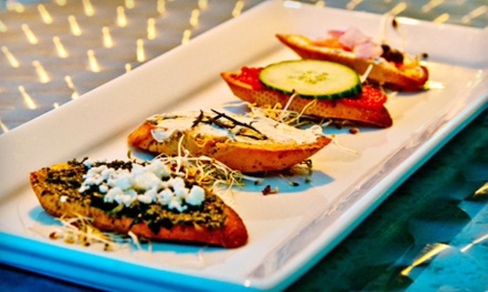 Obsession Lounge - Industrial Park: $20 for $40 Worth of French Fusion Cuisine and Drinks at Obsession Lounge