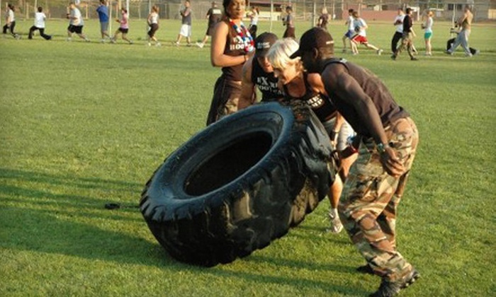 Extreme Boot Camp - Multiple Locations: Six Boot-Camp Classes or Two Weeks of Unlimited Classes at Extreme Boot Camp