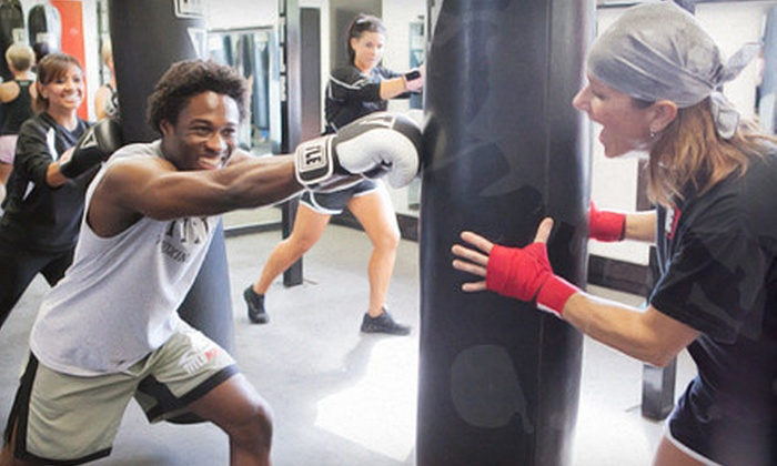 Title Boxing Club - The Centre At Preston Ridge: $49 for a One-Month Boxing Package with Fees and Gloves at Title Boxing Club in Frisco (Up to $192.99 Value)