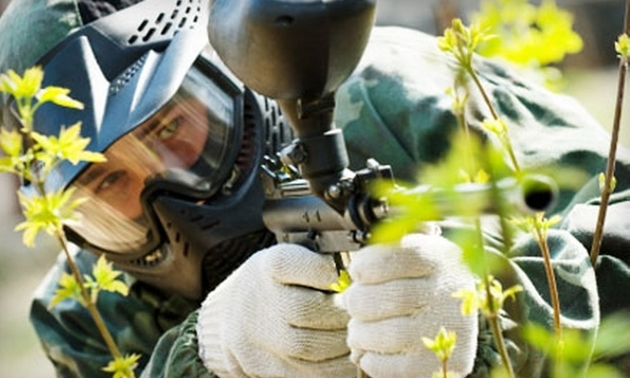 Tank's Paintball Park - Katy: $8 for an Hour of Play, Equipment, Unlimited Air, and 200 Paintballs at Tank's Paintball Park in Katy ($16 Value)