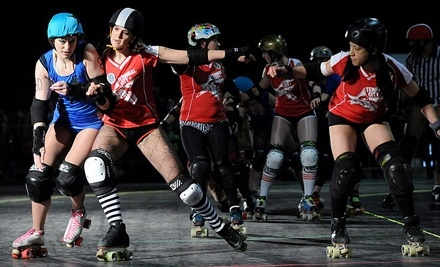 Terminal City Roller Girls All-Stars vs. Portland's Axles of Annihilation on Sat., July 9 at 6PM - Terminal City Roller Girls in Richmond