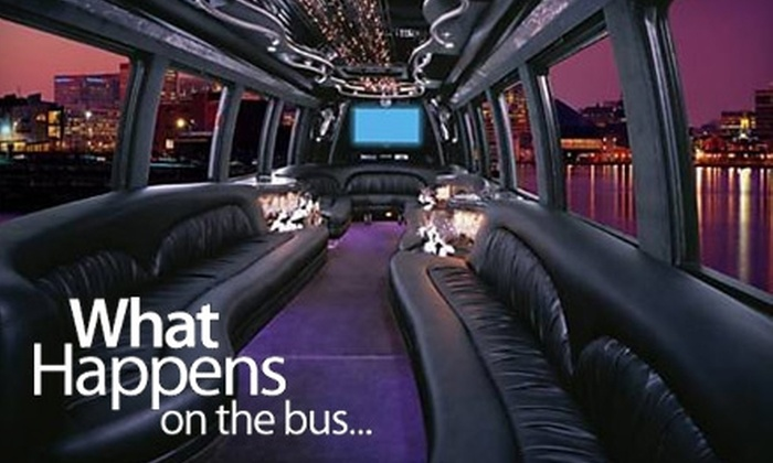 What Happens on the Bus - Hampton Roads: $17 for a Weekday Ticket ($35 Value) or $25 for a Weekend Ticket ($50 Value) to What Happens on the Bus